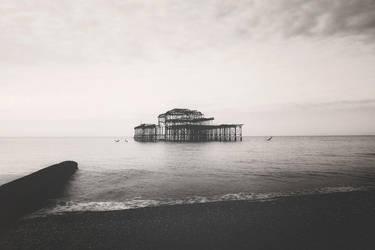 West Pier, Brighton by Kitiamara