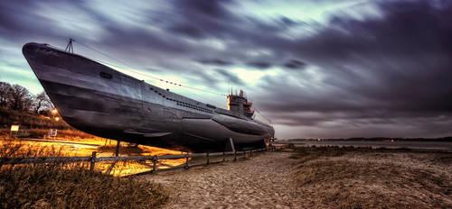 U995 Submarine by Josh-Miller