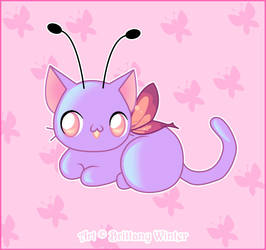 .:Kitty Faerie:. by PhantomCarnival