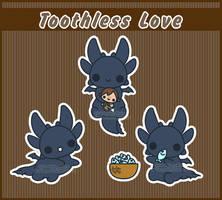 .:Toothless Love:. by PhantomCarnival