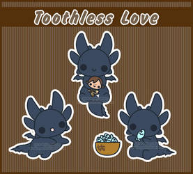 .:Toothless Love:. by PhantomCarnival