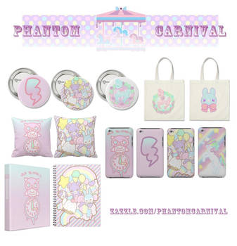 .:Zazzle Shop Update:. by PhantomCarnival