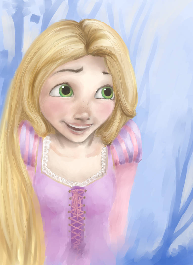 Rapunzel by malloweater