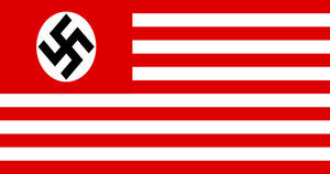 Flag of Nazi Occupied America by GeneralHelghast