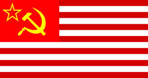 Flag of Soviet Occupied Amerika by GeneralHelghast