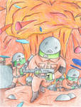 Catastrophe at the Southern Front by GeneralHelghast