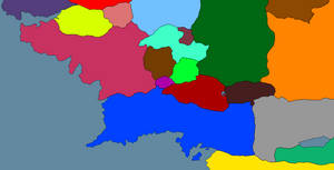 Middle Earth during the Third Age by GeneralHelghast