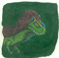 Feathered Tyrannosaurus Rex by GeneralHelghast