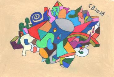 Cubism Sketch by GeneralHelghast