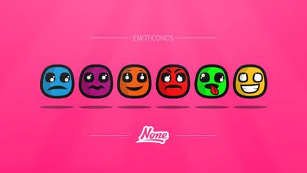 Emoticonos de None by NONEDESINGS