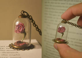 Beauty and the Beast Enchanted Rose by PumpkinQuartz