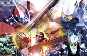 Kamen Rider W Wallpaper by ShoguN86