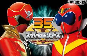 35th Sentai Wallpaper by ShoguN86