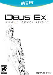 Deus Ex: Human Revolution Wii U Cover by ShoguN86