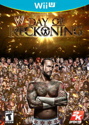 WII U WWE Day of Reckoning Cover by ShoguN86