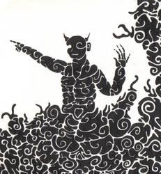 Twirly Genie by mikes-cat