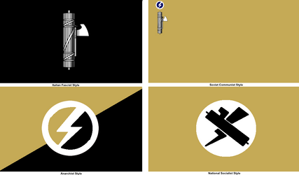 Fascist Flag in Different Forms by MyLittleTripod