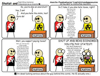 Statist and RWLPTBA - Anarcho-Peoplewhoopposeus by MyLittleTripod