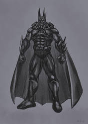 Chalky Batman by everpainting