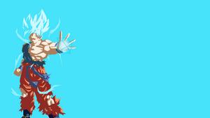 Goku Super Saiyan Blue by tcolon97