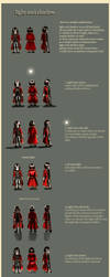 light and shadow guide by calisto-lynn