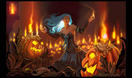 flame orchestra by calisto-lynn