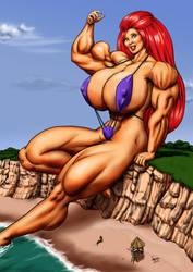 Giantess Cassie By Davidcmatthews by Giantess-Cassie
