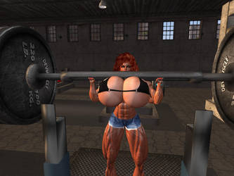 Workout 3 by Giantess-Cassie