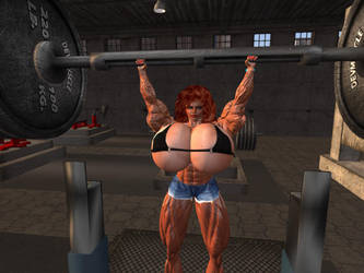 workout 4 by Giantess-Cassie