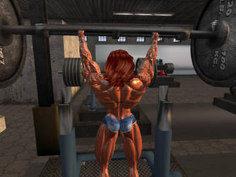 Workout 5 by Giantess-Cassie