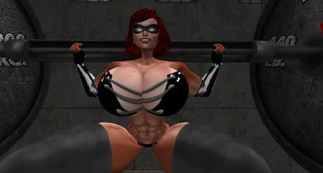Super workout by Giantess-Cassie