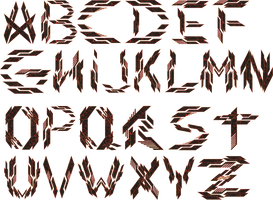 Transformed Mentality Projection Font by TMProjection