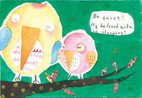 Love birds by bellalee