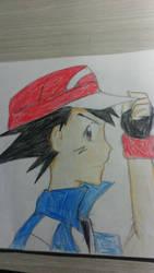 Ash Ketchum by RianUchiha
