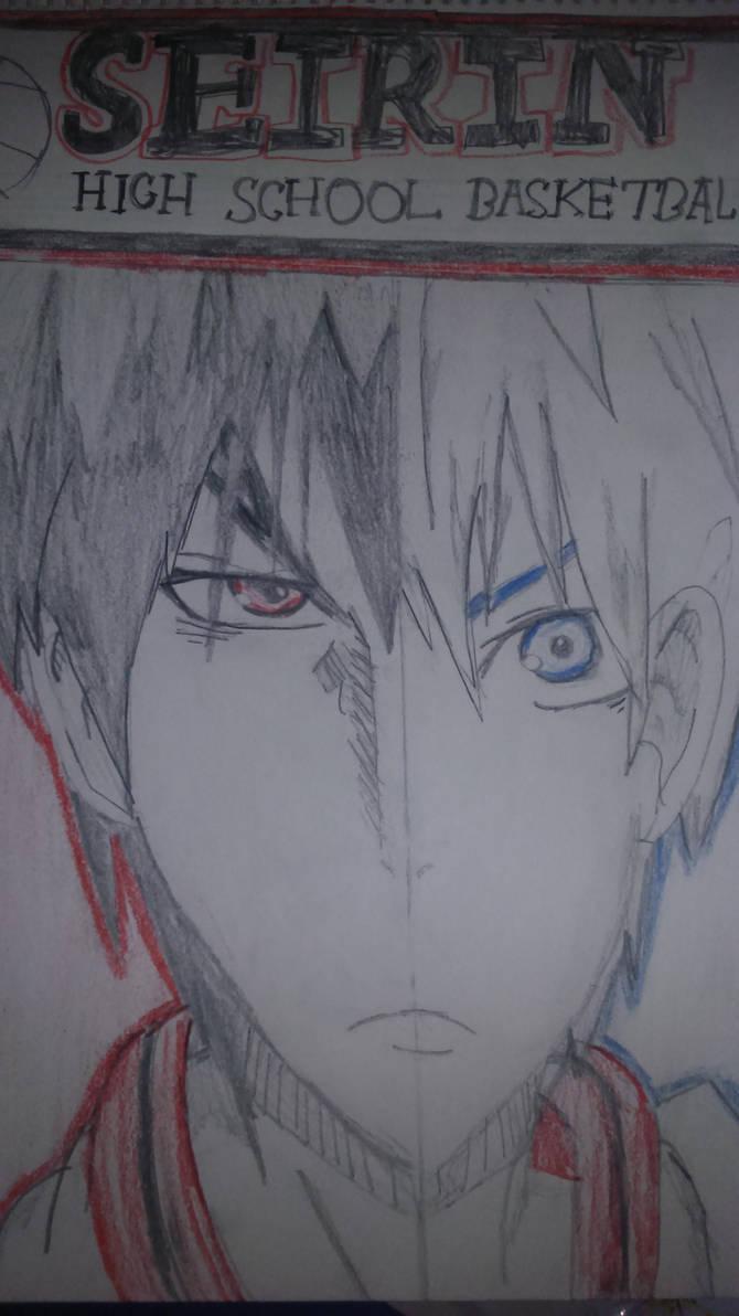 Kuroko and Kagami by RianUchiha
