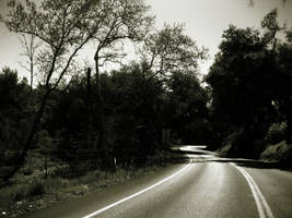 Uncertain Road Ahead by SassyAssLilBich