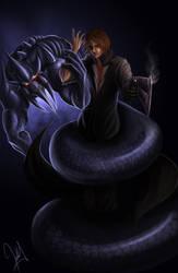 alexander  leviathan by avenegra9arte