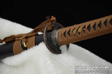 Hand Forged Straight Blade Iaito 3 by swordsofnorthshire