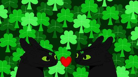 Happy St.Patrick's Day Night Furies by Lakadema34