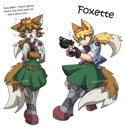 Foxette by Dapuffster