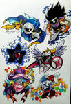 Cannon Kirby Characters Requests by Kare-Bear117