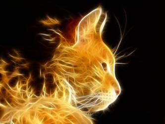 Fractal Cat by Nueschi