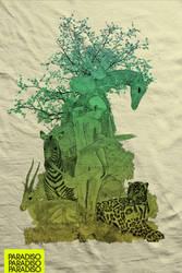 PARADISO tee Design by myargie22