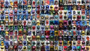 Sentai Heroes as of 2013 by nobuharuudou