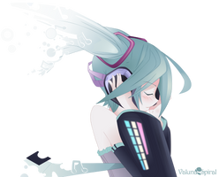 [V/RENDER] Miku Hatsune by ValunaSpiral