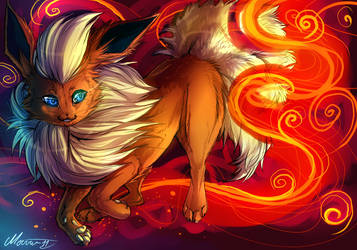 Flareon by mourum