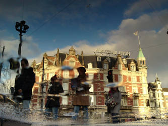 Reflections Of Amsterdam 8 by amstersam