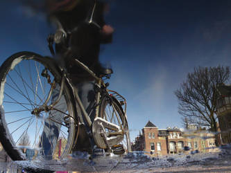 Reflections of Amsterdam 16 by amstersam