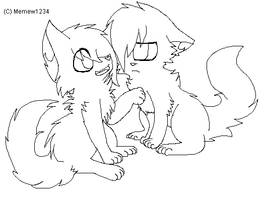 Annoying You .:Lineart or Base:. by Mega-Icarus