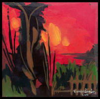 abstact landscape 3 by r-ozgur